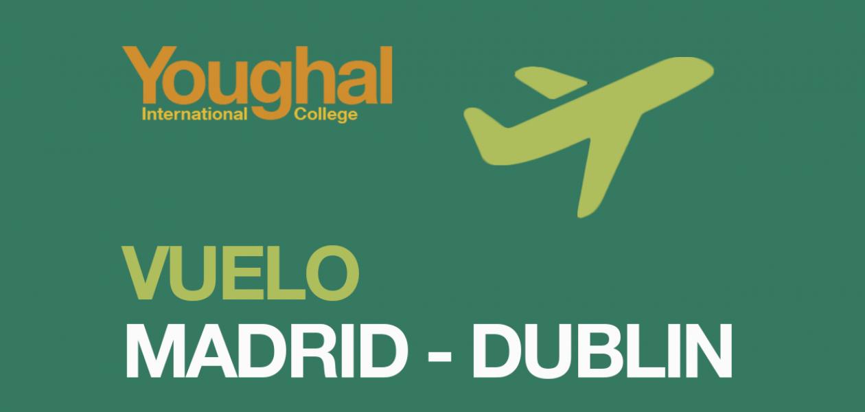 Vuelo Madrid – Dublin