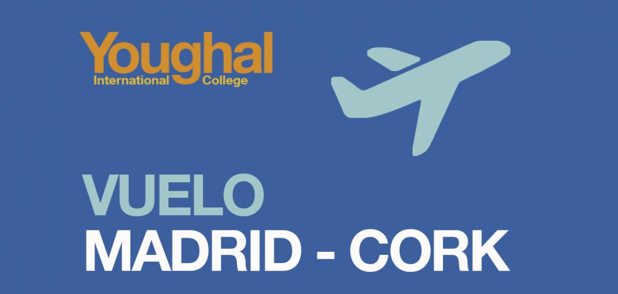 Flight Madrid-Cork