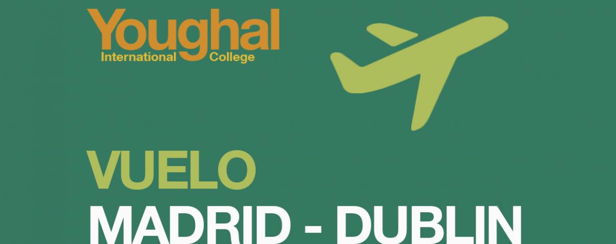 Madrid – Dublin flight